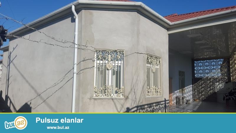 Срочно! Продается  1-но  этажный   4-х комнатный  частный дом в посёлке Мардакан  - рядом с рестораном *Дениз* ...