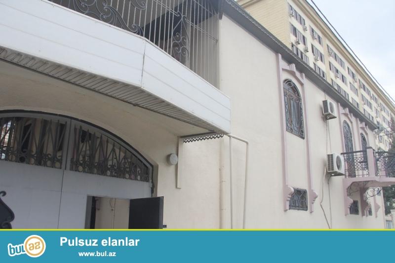 Срочно! сдается  в аренду на долгий срок 2-х этажная 9-и комнатная вилла расположенная по проспекта Теймура Алиева...