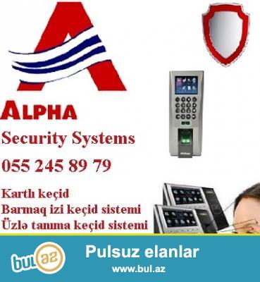 Biometrik sistem. <br /> <br /> Is yerinde nizam-intizami ve tehlukesizliyin eyni anda qorumaq ucun en mukemmel vasitelerden biri – biometriksistemdir...