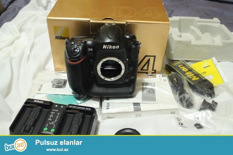 Nikon D4 16.2 MP Digital SLR kamera.<br /> <br /> 2 1 pulsuz almaq almaq...