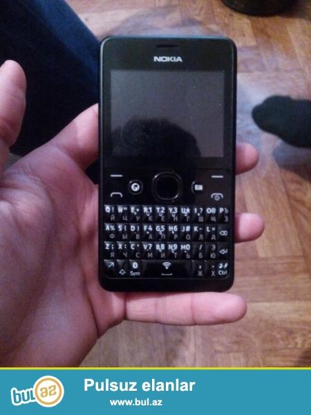 Nokia210 (wifi,wp,youtub,twitter bir sozle hamisin destekleyir)  hec bir problemi yoxdu  ustunde adaptor nausnik  karobka ustunluk barter blackberry 9900 men terefden  15 azn verrem