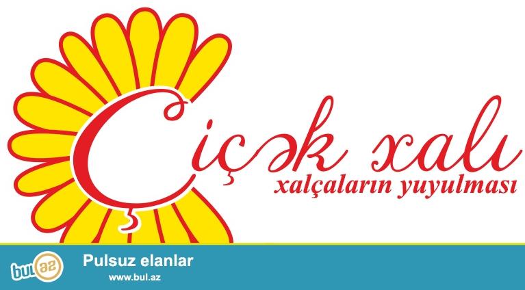 """Xalçaların təmizlənməsi   """"Çiçək xalı"""" xalça və xalça"""
