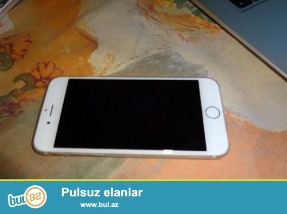 iPhone 6 islenmis Satiram butun aksesuarlari var barmaq izi
