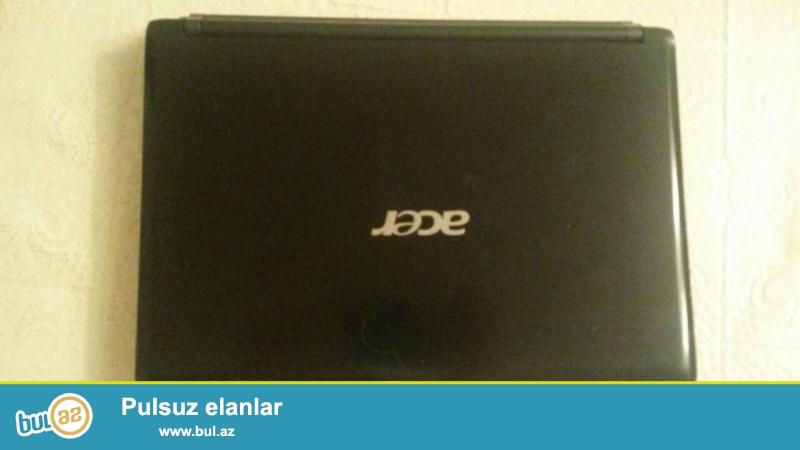 Acer netbuku satilir 120 manat.ram 2. Hard disk 320gb.teze