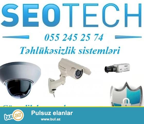<br /> Nəzarət kameraları (təhlükəsizlik sistemləri) – professional avadanlıq...