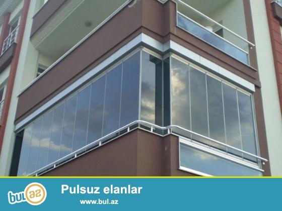 Euro Design Cam balkon sizə aşagıdakı xidmətləri təklif edirik...