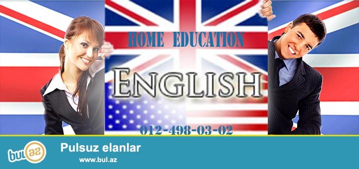 """İngilis dili dərsləri.<br /> """"Home education"""" tədris mərkəzi İngilis dili tədrisi uzrə ixtisaslaşmışdır..."""