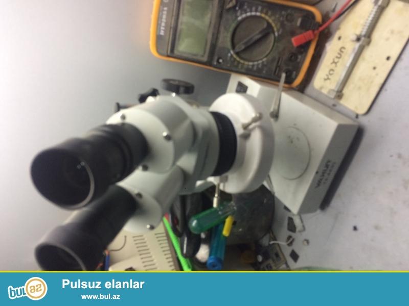 Mikroskop satilir telefon temiri ucun