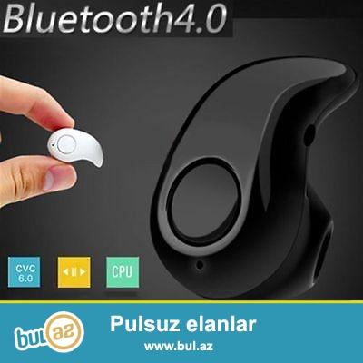 Bluetooth qulaqciq <br /> yeni<br /> zenglere cvb vermek olur<br /> mahni dinlemek<br /> mini<br /> qulaqa tam yerlewir iw cun bawqa bi weydi tam yerlewir ver gorunmur <br /> youtube...
