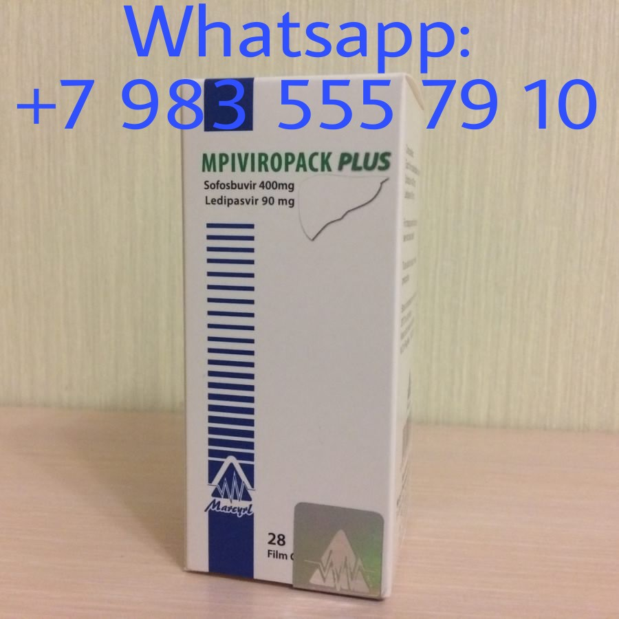 Mpiviropack Plus Misirin original hepatit c, genotip 1, 1a, 1b ucun olan derman.Whatsapp ile elaqe saxlayin