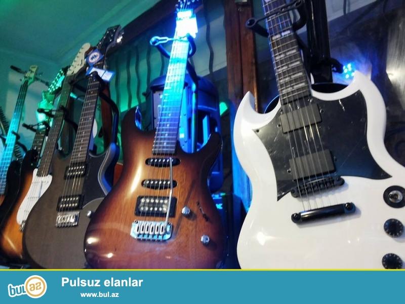 Gitara muellimlerinin secimi olan hevesker ve yeni