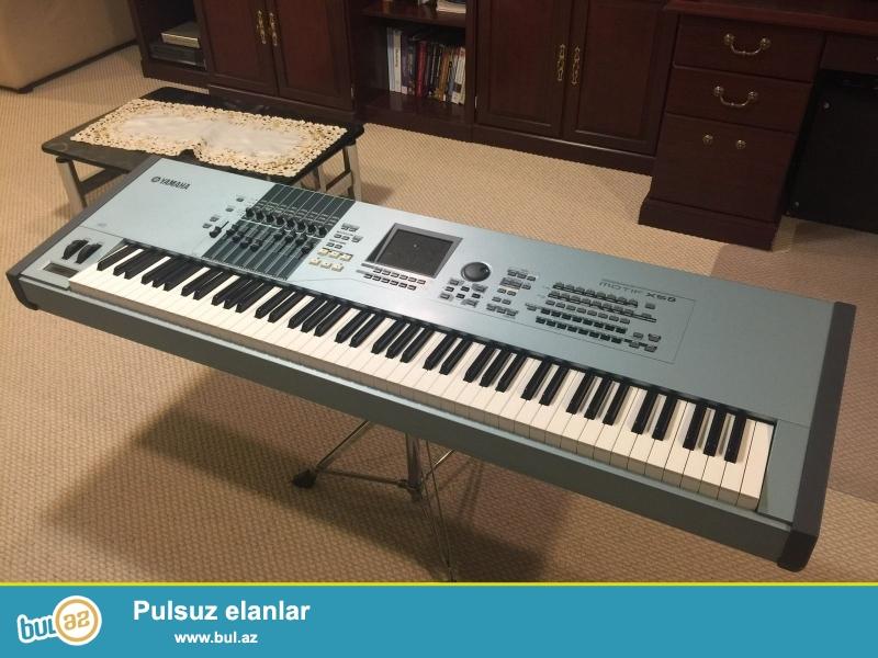 Promo! Promo !! Promo !!!<br /> <br /> 5 dənə 2 pulsuz almaq Almaq !!<br /> <br /> Yamaha Motif XS8 Workstation • Sintezator • 88 çəkili Keys<br /> <br /> Brand Yamaha<br /> Model MOTIF XS8<br /> MPN YAMMOTIFXS8<br /> UPC 86792858746<br /> <br /> Əsas Xüsusiyyətlər<br /> Type Keyboard Sintezator<br /> Keys 88 sayı<br /> Power Supply AC Adapter<br /> <br /> Properties<br /> Pitch Təkər uyğun USB Xüsusiyyətlər<br /> <br /> bağlama haqqında sorğu üçün aşağıdakı məlumatları əlavə:<br /> <br /> skype: unbetable...