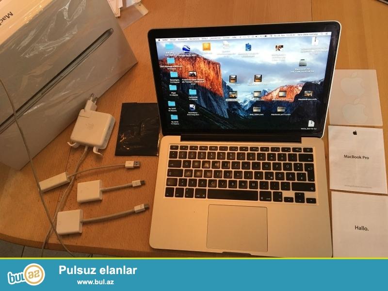 """promo! promo! promo !!<br /> <br /> 5 2 pulsuz bölmələri almaq Almaq !!<br /> <br /> New Apple MacBook Pro Retina 15 WhatsApp: +447452264959<br /> <br /> Hard Drive Capacity: 512 GB PCI Flash SSD Product Family: MacBook Pro Retina<br /> Əməliyyat sistemi: MacOS 10:12 Sierra MPN:<br /> Tətbiq edilmir<br /> Rəng: Space Gray və ya Silver Release Buraxılış ili: 2016<br /> Ports: 4x Thunderbolt 3 Ekran ölçüsü: 15 """"<br /> Screen: Wide Rəng Retina Manufacturer Zəmanət: 1 il<br /> İkinci Əməliyyat sistemi: Windows 10 Pro Prosessorun növü: Intel Core i7 6 yanvar<br /> Və: Touch ID Processor Speed: 2..."""