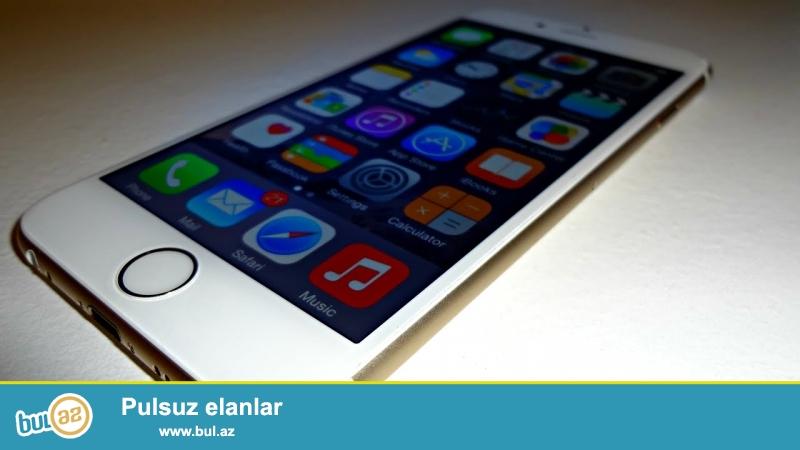 iPhone 6 gold rengela isleyir touch Id yoxdur. telefonun ici ve colu tertemizdir...