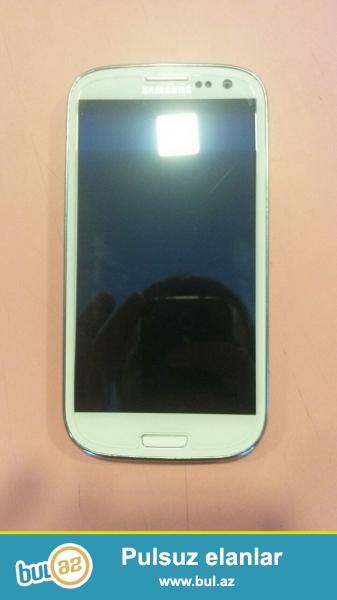 Samsung Galaxy S III   -   ideal veziyyetde  165 AZn     050 400 41 31   055 218 4003