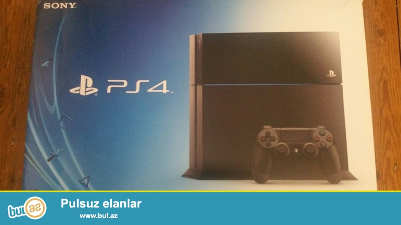 Sony PlayStation 4 500GB Jet Black Console.<br />