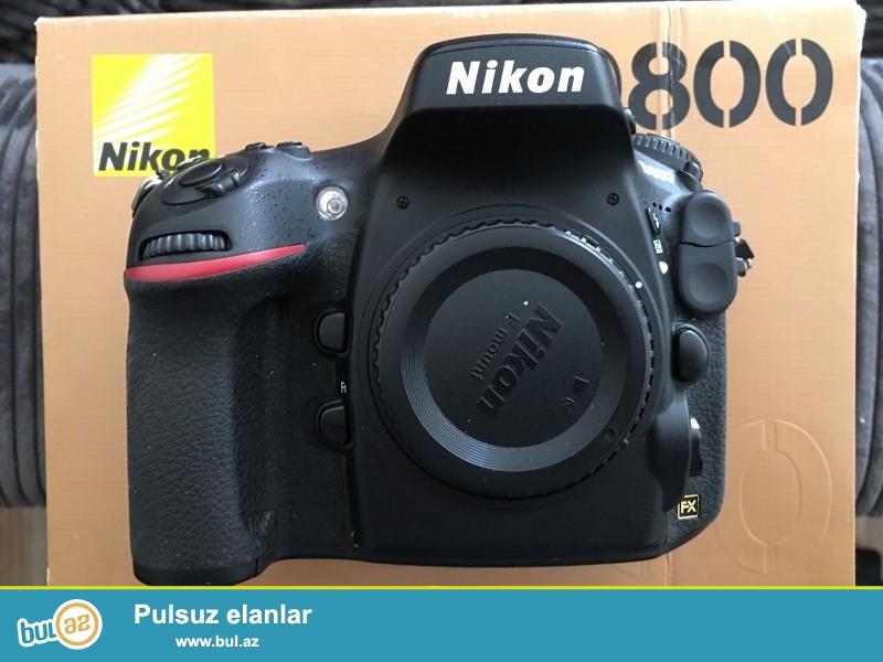 Nikon D800 36.3 MP Digital SLR Camera.<br /> <br /> 2 1 pulsuz almaq almaq...