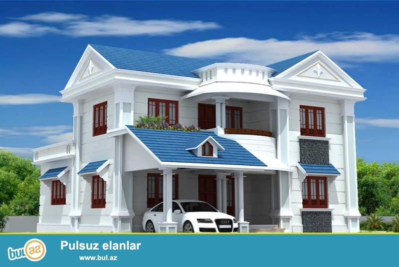 """ A memarliq-dizayn "" shirketi, Azerbaycanda en ucuz qiymetlerle, tecrubeli memarlar terefinden istenilen uslubda yashayish ve qeyri yashayish binalarinin, ferdi yashayish evlerinin, villalarin, ticaret obyektlerinin memarliq planlashdirma bolmesinin, eskiz ve ishchi layihelerinin hazirlanmasini ve elecede eksteryerlerin 3D gorunushunun hazirlanmasini teklif edir (LİSENZİYA ve MOHURLE)..."