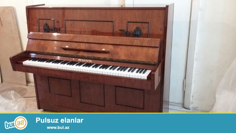 samdanli 3 pedal belarus pianinosu satiram. dasinmasi ve koklenmesi qiymete daxildir