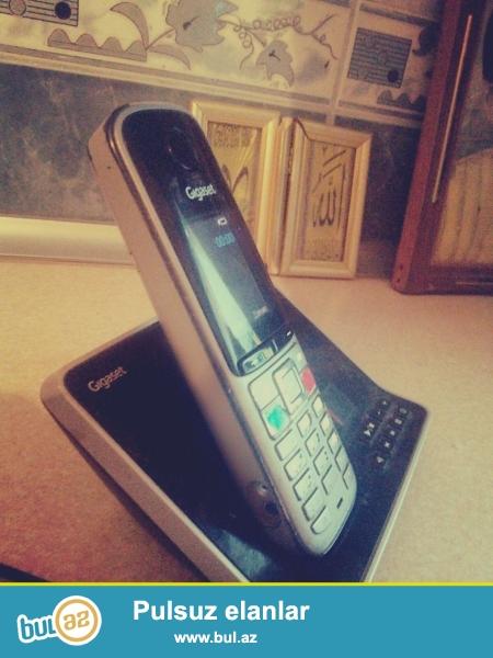 Gigaset ev teleefonu satilir telefonda bluetooth budulnik