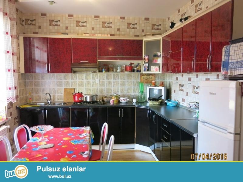 Xirdalanda merkezde 3 otaq super temirli heyet evi Tecili