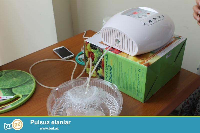 Ozonator – aktiv oksigen generatorudur. Aparatın unikallığı ondan ibarətdir ki, o həm havanı, həm suyu, həm də qidanı ozonlaşdırır...
