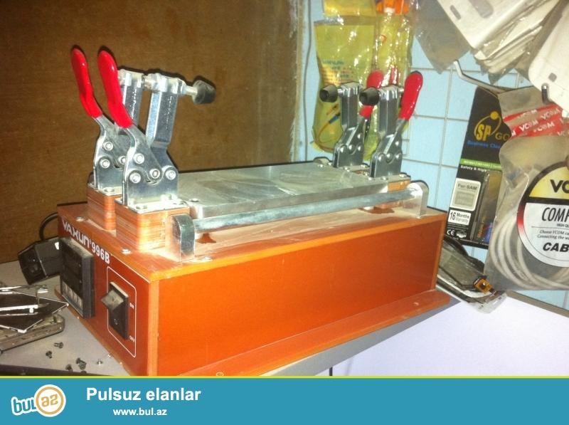 Telefon temiri ucun sensor (Suse) ayiran  pec satilir. Telefon ustasina lazimli avadanliqlar satilir.