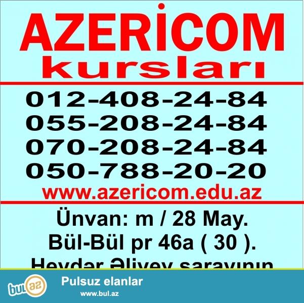 1) Ofis proqramları <br /> 2) AutoCAD <br /> 3) 3 ds MAX ( V-Ray ) <br /> 4) Corel Draw<br /> 5) Adobe Photoshop <br /> 6) IT servis <br /> 7) Microsoft-MCSA: Windows Server 2012  R2<br /> 8) CISCO-CCENT, CCNA Routing and Switching <br /> 9) CİSCO- CCNP <br /> 10) Turizim proqramları: Amadeus system, Galileo system, Gabriel system<br /> 11) Xarici Dillər <br /> 12) Mühasibat və 1 C ( 7...