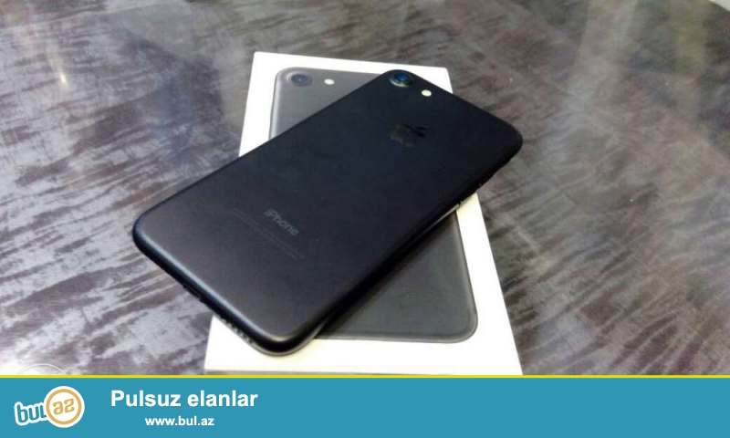 Iphone 7 satilir, upakofkada yenidir, rengleri var...