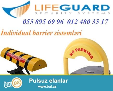 Barrier sistemi 055 895 69 96<br /> Barrier (slaqbaum) sisteminin innovasion bir novunu size teqdim edirik: individual slaqbaum...