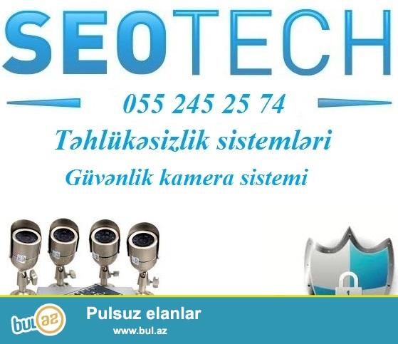 """<br /> Müşahidə kameraları  055 245 25 74<br /> <br /> Sizin sayənizdə """"Seotech"""" şirkəti daha da inkişaf edərək, bölgələrimizdə də filiallarını açmağa davam edir..."""