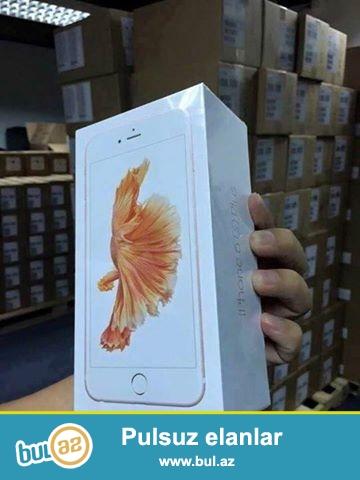 Vəziyyəti: Yeni<br /> Brand: Apple<br /> Model; iPhone 6 Plus<br /> Depolama: 64GB<br /> Network Status: oxunuş Network<br /> Zəmanət: 1 il<br /> Rəng: GOLD<br /> IMEI: Daxil