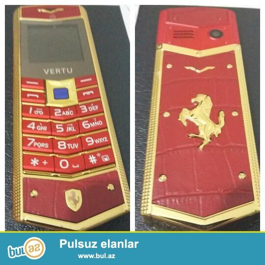 Yeni orginal bağlamada Vertu Ferrari Luxry telefonu Orginal