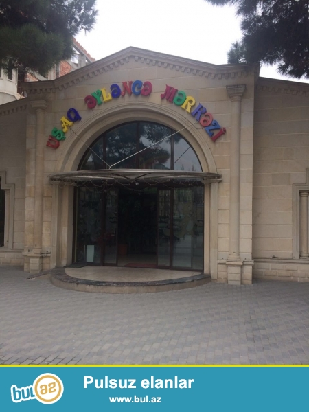 Xırdalan şəhəri AAAF park yaşayış kompleksi parkın girişində yerləşən binada ümumi sahəsi 44kv...