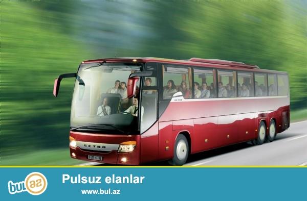 Butun istiqametlere  en serfeli qiymetle Vip Avtobuslarin sifarisini bizimle ede bilersiz<br />