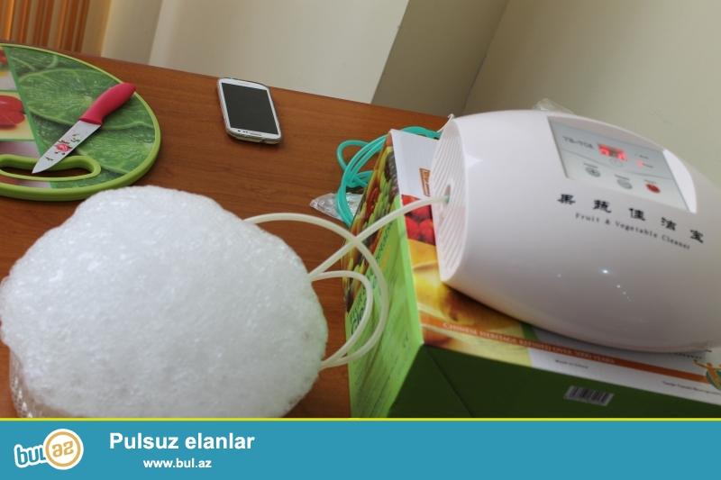 Ozonator – aktiv oksigen generatorudur. Aparatın unikallığı