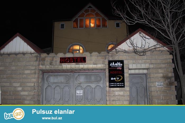 Eziz dostlar bizim Hostel White city  seherimizin gonaglari ucun artig acildi, unvanimiz metro Xatai Yusif Seferov kuc...