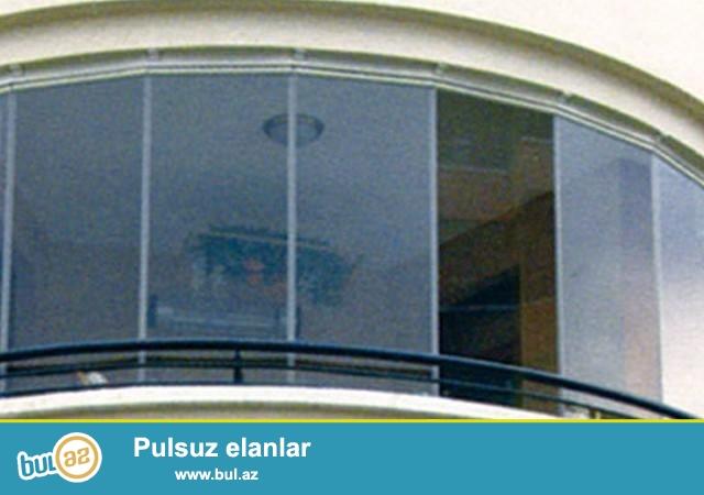 Her nov cam balkonlarin sifariwi ve temiri .Catdirilma ve