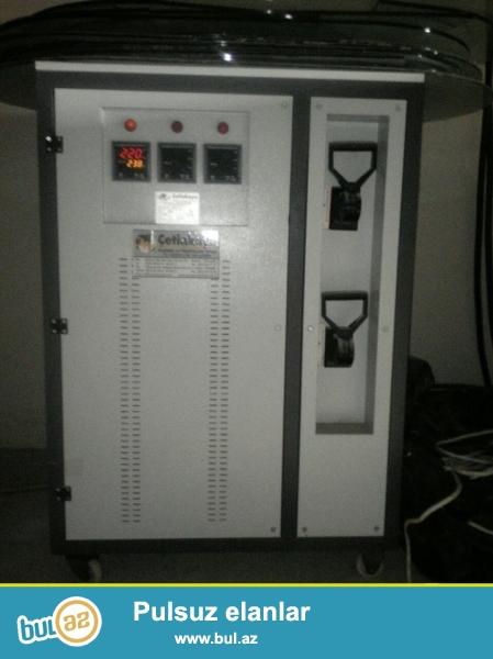Stablizator satilir 150kv 4900azn