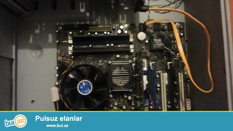 Full Intel DDR3 Ana plata 4 ram slotu 32 gb ram destekleyir