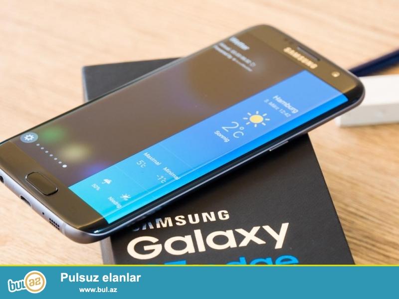 Samsung s7 edge 64 gb az islenmis tam ideal veziyetde hec bir prablemi yoxdu tecili olaraq satilir telfonun karobkasi ve butun aksesuarlari tam sekildedi xais edirem almaq fikri olan narahat elesin 070 574 61 97