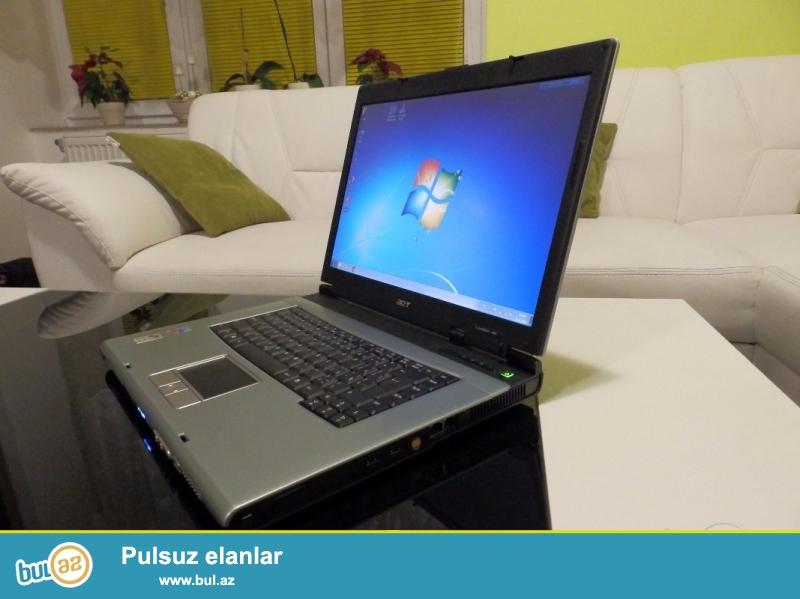 Tecili olaraq Acer TravelMate 4060 noutbuku satilir. Shekilde gorduyunuz modeldir.  Ram 2Gb HDD 160Gb VGA 1Gb Wifi Bluetooth hamisi ishlek veziyyetdedir...