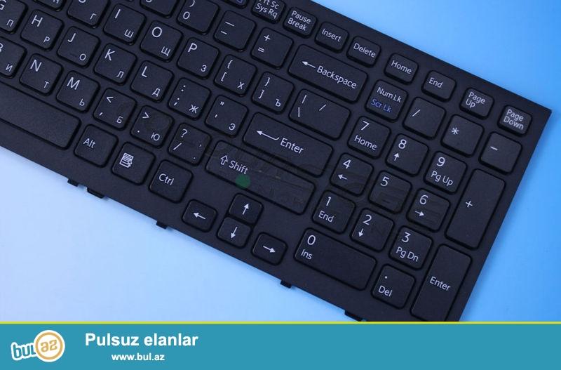 Hər növ notebook klavyaturalarının zəmanətlə satışı...