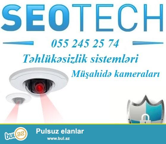 <br /> IP tehlukesizlik kameralari. <br /> <br /> Seotech sirketinde analoq kameralarla yanasi, IP kameralarin da satisi ve qurasdirilmasi xidmeti gosterilir...