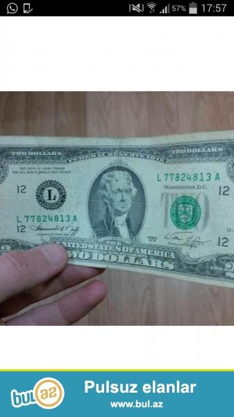 Yaxsi veziyyetdedir 1976 ci ilin iki dollaridir razilasma yolu ile <br />