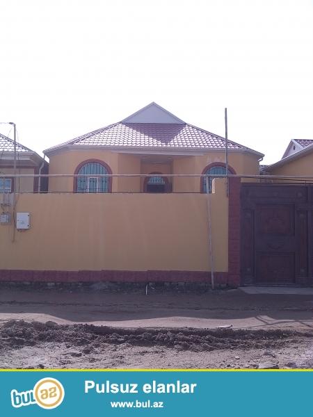 Sabuncu Rayonu Zabrat Qesebesinde 2 sot icinde 4 otaq metbex hamam tulet evin icinde kombi sistemi cekilib evin kv...