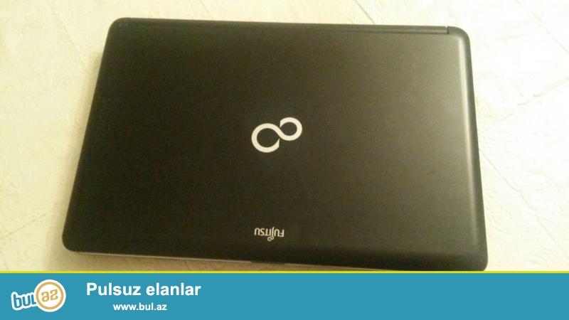 Fujitsu siemens noutbuku satilir 230 manat. i3 prosessor .6gb ram.tezd format olunub ela isleyir ...